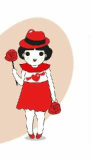 عکس پروفایل ست هنرمند عاشقانه - زن
