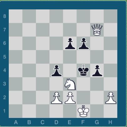 نمونه مسائل و ترکیبات شطرنج