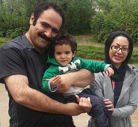 تصاویر بازیگران و هنرمندان معروف ایرانی به همراه همسرانشان