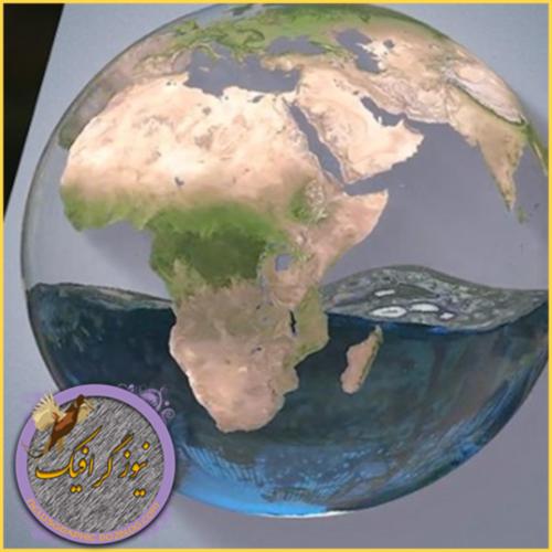آموزش ساخت کره زمین پر از آب در C4D و Ae