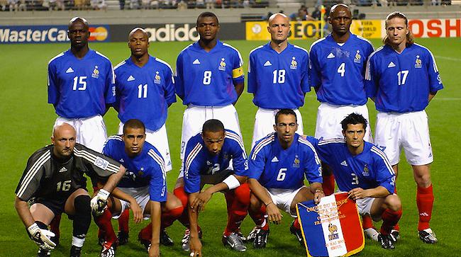 ترکیب کلاسیک فرانسه جام جهانی2002
