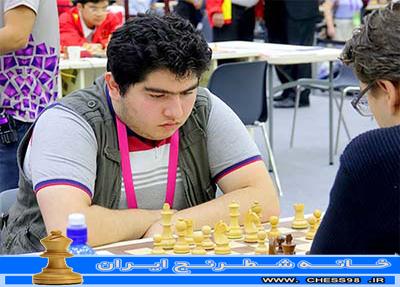 پرهام نوجوانان 16 ساله همچنیان یکه تاز بهتریت های شطرنج ایران