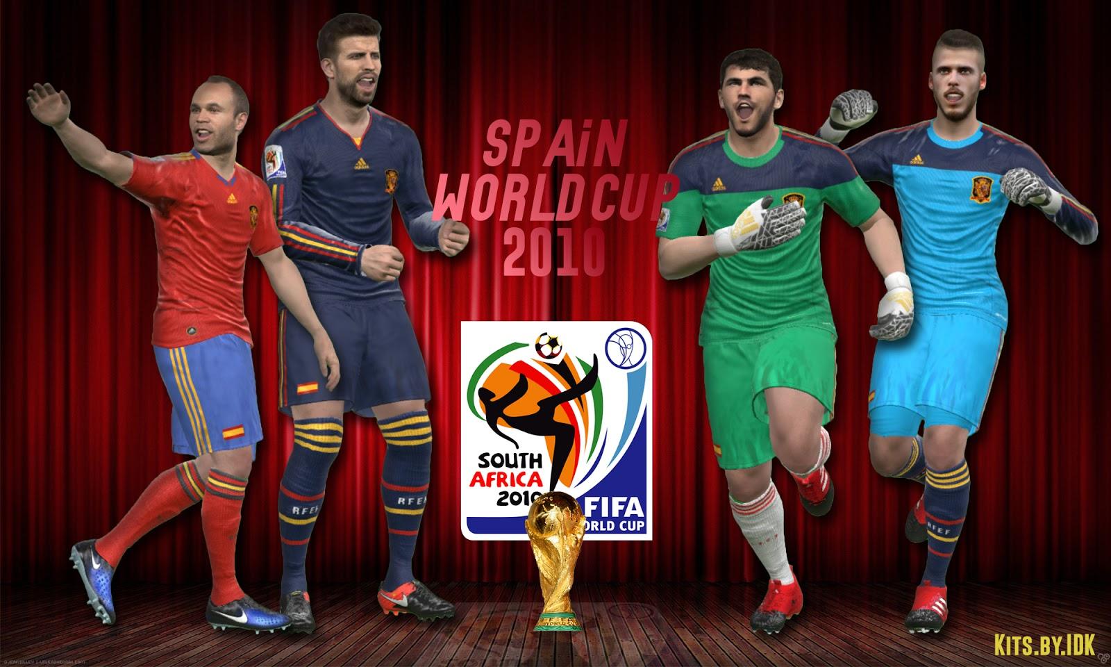 دانلود کیت 2010 جام جهانی اسپانیا