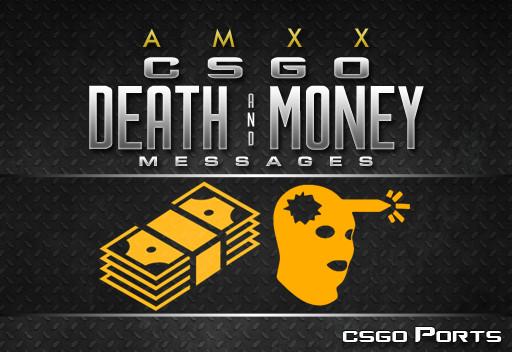 دانلود جدیدترین پلاگین CS:GO Death and Money برای کانتر استریک