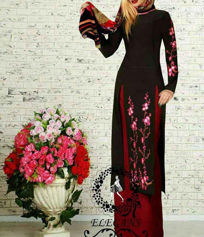 مدل مانتو عید نوروز شیک