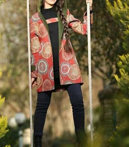 مدل مانتو کتی دخترانه جدید