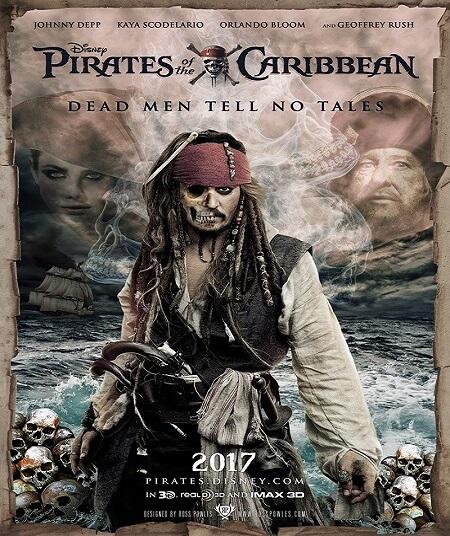 دانلود فیلم دزدان دریایی کارائیب 5 2017 Pirates of the Caribbean