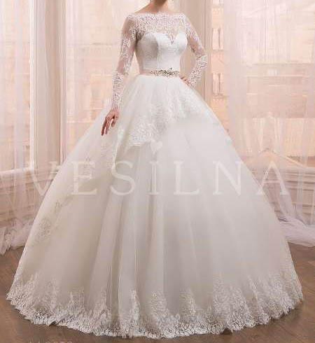 جدیدترین مدل لباس عروس دانتل