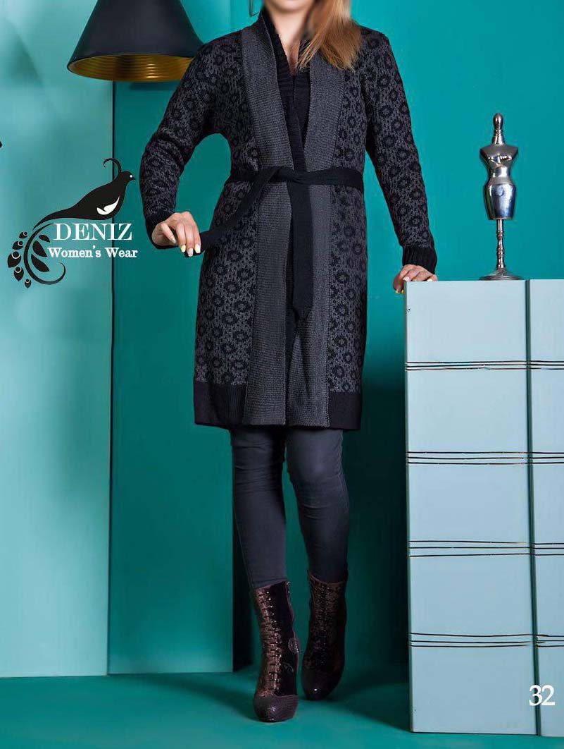 مدل مانتو بافتنی زنانه 2017,