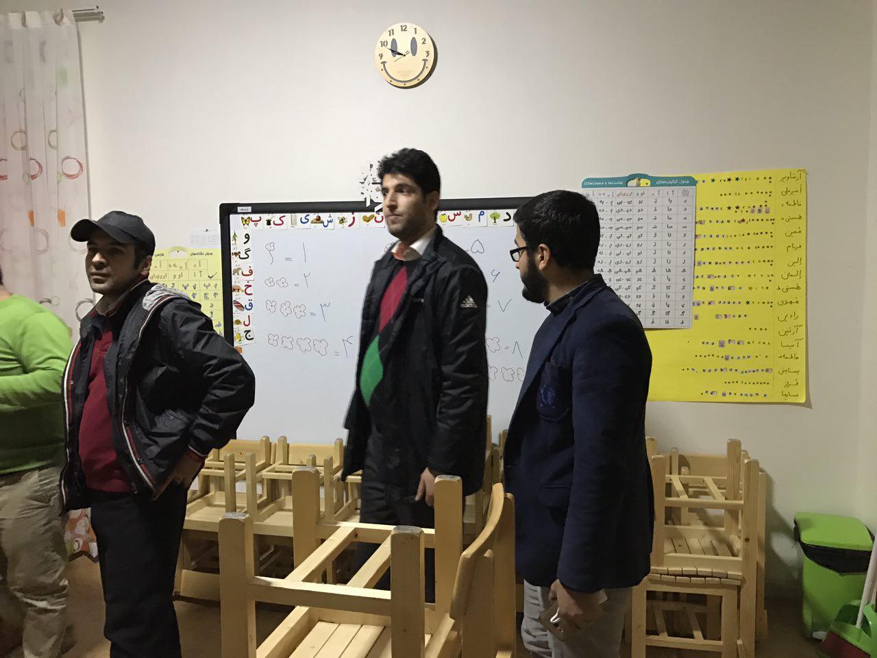 گزارش تصویری بازدید از مرکز رفاهی کودک و خانواده اردبیهشت
