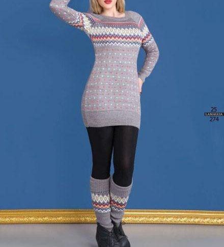 مدل تونیک بافتنی دخترانه جدید,