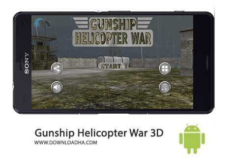 دانلود بازی GUNSHIP BATTLE Helicopter 3D 2.5.11