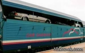 نرخ حمل خودرو با قطار در ایام نوروز 96