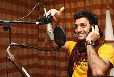 فیلم شیث رضایی در حال ساخت آهنگ جدیدش