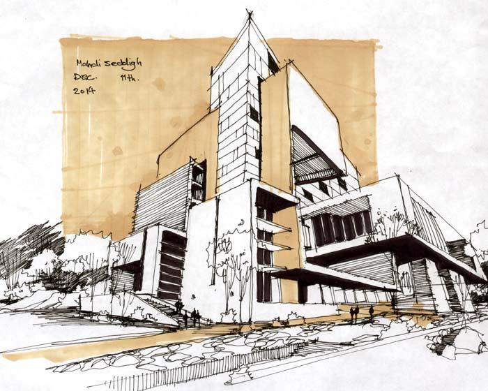 دانلود پاور پوینت طراحی معماری بیمارستان