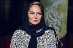 عکس جدید مهناز افشار در اتاق گریم سریال عاشقانه