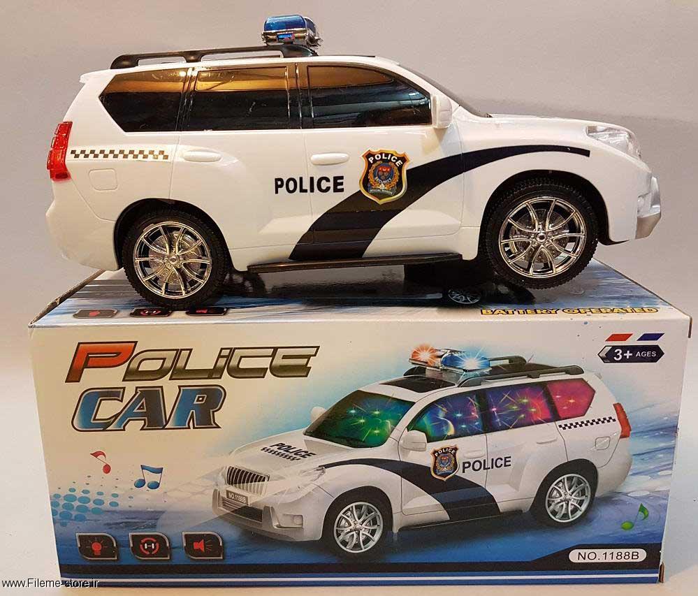 خرید ماشین پلیس طرح BMW 3D مدل 1188B