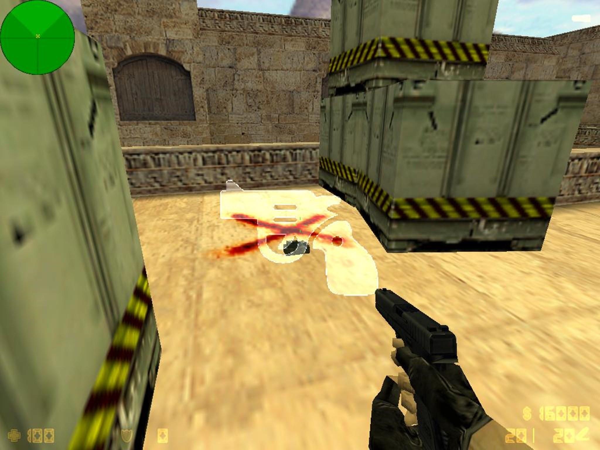 دانلود ال ای دی بمپ Gun - Ledglow برای کانتر استریک 1.6