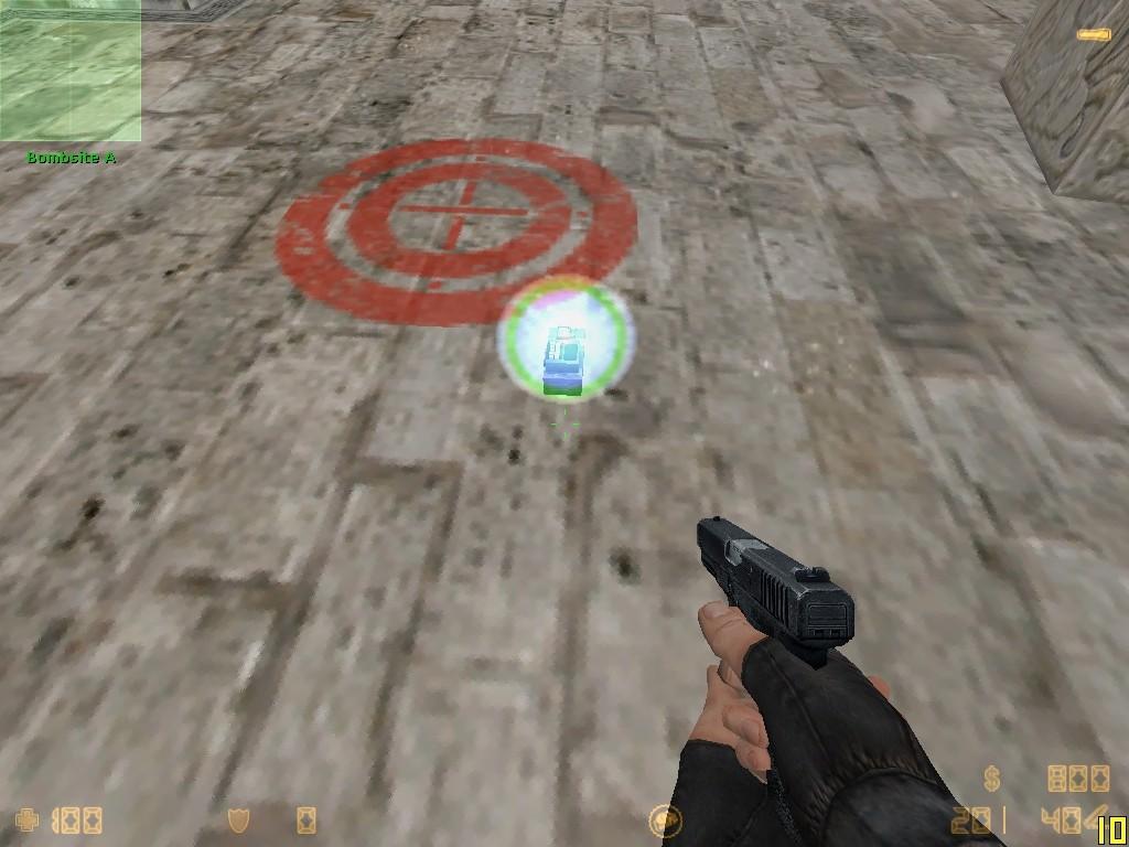 دانلود ال ای دی بمب دو رنگ Blue + Green Ledglow برای کانتر استریک 1.6 (جدیدترین)