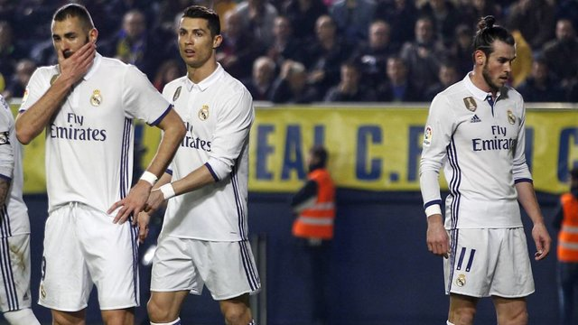 هواداران رئال مادرید؛ BBC برابر ناپولی بازی نکند!
