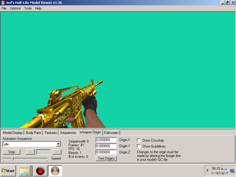 دانلود اکسترا ایتم هومن Extra Golden M4a1 برای کانتر استریک 1.6 زامبی