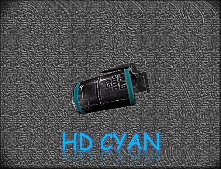 دانلود اسکین ایتم HD Cyan Flashbang برای کانتر استریک 1.6