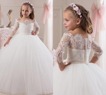 مدل لباس عروس بچه گانه 96,