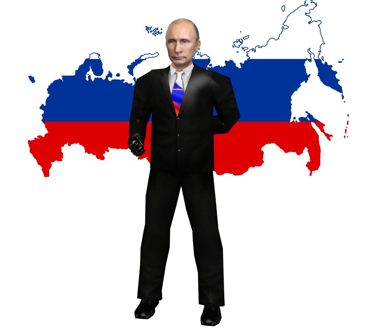 دانلود اسکین پلیر پوتین (CT) Putin برای کانتر استریک 1.6