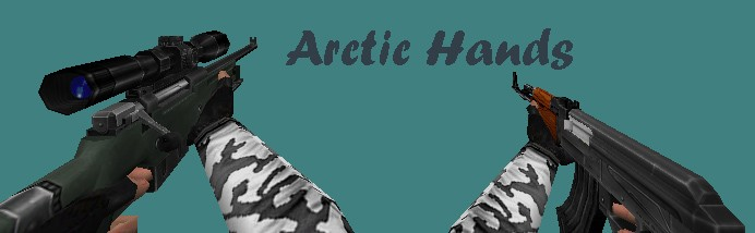 دانلود دست کش Arctic Arms برای کانتر استریک 1.6