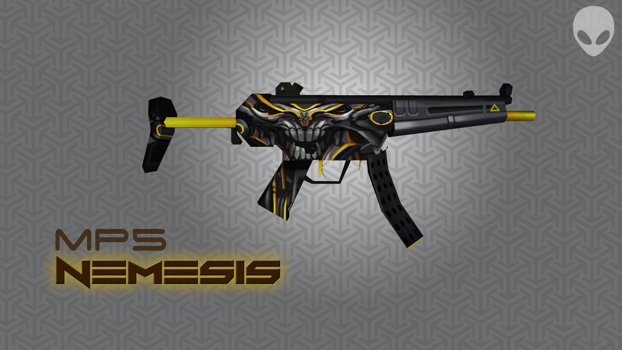 دانلود اسکین ام پی5 MP5 | Nemesis برای کانتر استریک 1.6