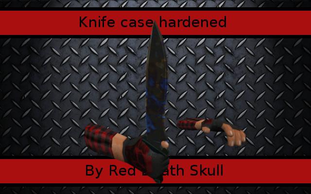 دانلود اسکین نایف Knife Case Hardened برای کانتر استریک 1.6