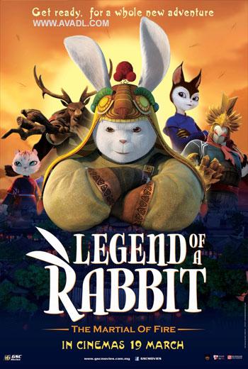 دانلود انیمیشن Legend of Rabbit The Martial of Fire 2015