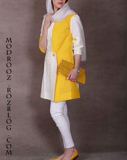 مدل مانتو دخترانه مجلسی شیک