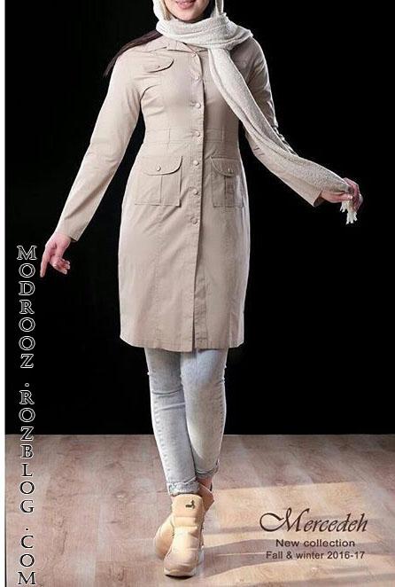 مدل مانتوی اسپرت دخترانه 2017,