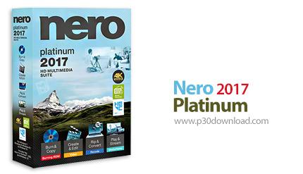 دانلود Nero 2017 Platinum v18.0.08400 + Content Pack - مجموعه ابزارهای نرو