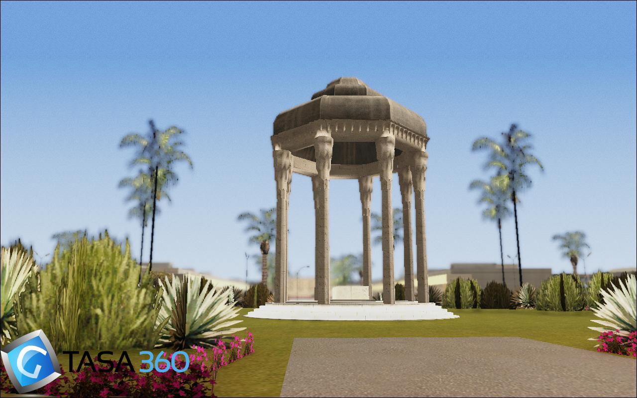 مقبره حافظ برای gta sa