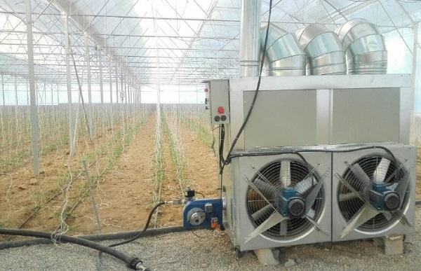 سیستم های گرمایشی گلخانه ها
