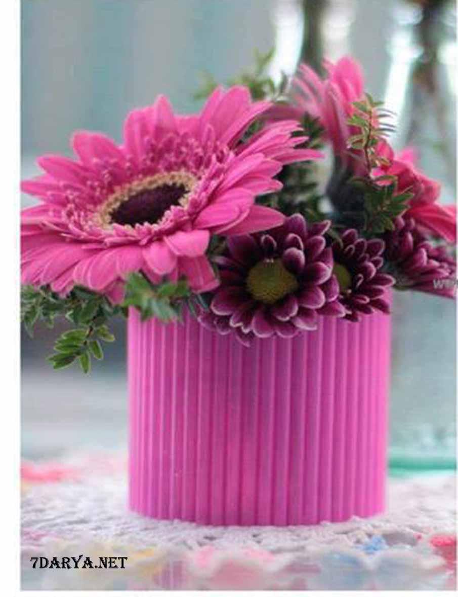 آموزش ساخت گلدان