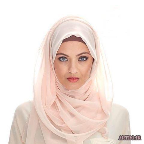 آموزش بستن شال و روسری دخترانه