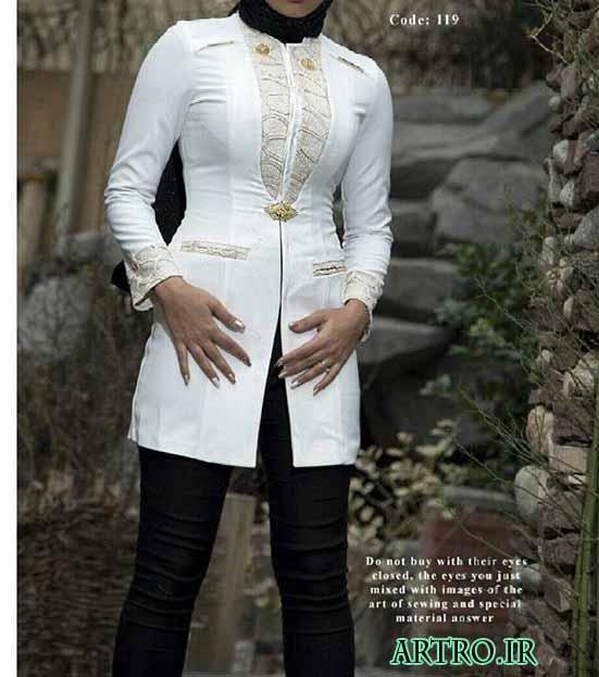 مدل مانتو اسپرت دخترانه شیک