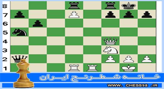 آموزش اختصاصی پياده رونده در شطرنج