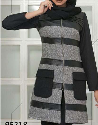 مدل پالتو شیک دخترانه 2017
