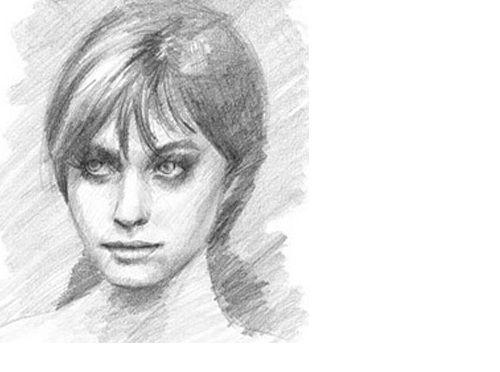 آموزش کشیدن چهره با مداد2