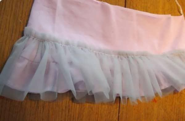 آموزش دوخت لباس بچه بدون الگو6