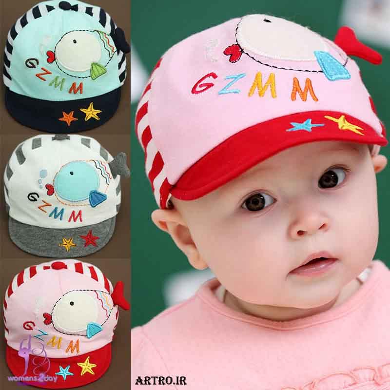 مدل کلاه تابستانه بچه گانه1