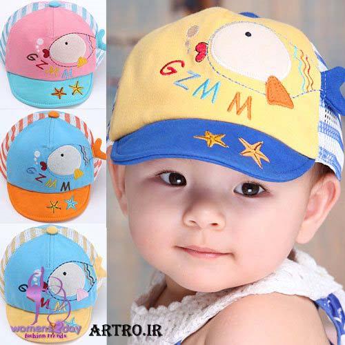 مدل کلاه تابستانه بچه گانه3