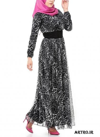 مدل لباس مجلسی با حریر دخترانه,