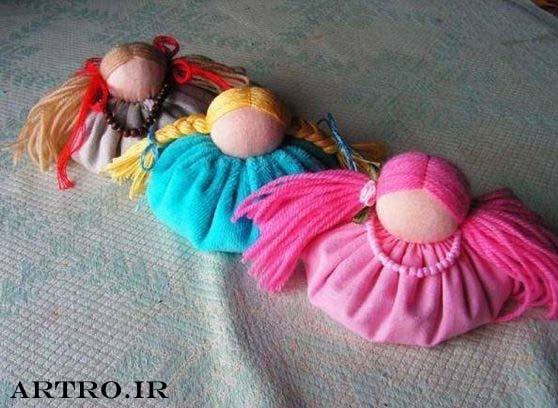 آموزش تصویری دوخت عروسک ساده