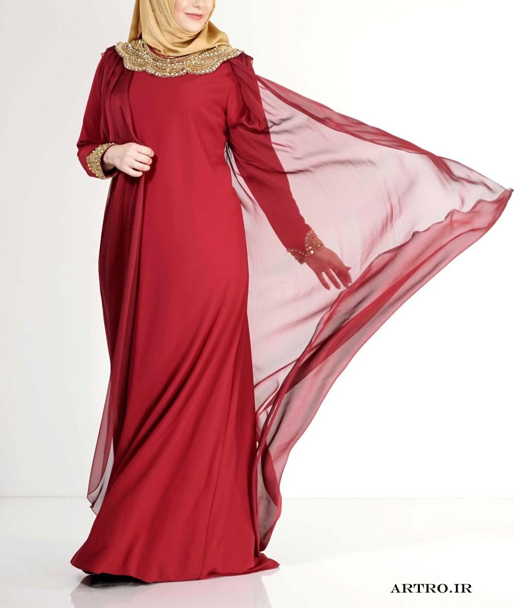 مدل لباس مجلسی زنانه بزرگ سایز 2017