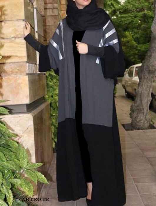 مدل مانتو ریون بلند زنانه,